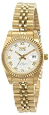 Invicta Womens 9338 ll Collection Camelot Quartz Gold Watch