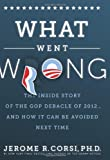 What Went Wrong?: The Inside Story of the GOP Debacle of 2012 . . . And How It Can Be Avoided Next Time