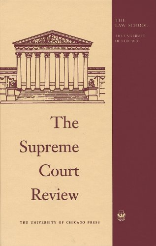 The Supreme Court Review, 1985