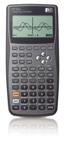 Hewlett Packard HP40GS Graphing Calculator