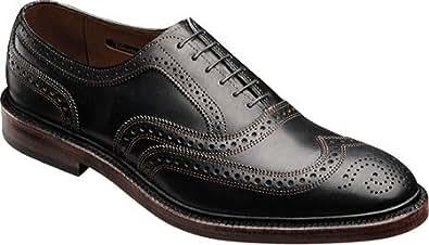 Allen-Edmonds Men's McTavish Shoes,Black Wax Infused Leather,9.5 3E US