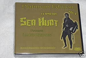 SEA HUNT-VOLUME TWO- 15 DVD BOXED SET-61 EPISODES W/ INTERACTIVE DVD MOTION MENUS