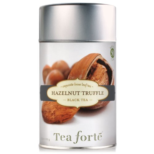 Tea Forte Loose Leaf Tea Canister - Hazelnut Truffle