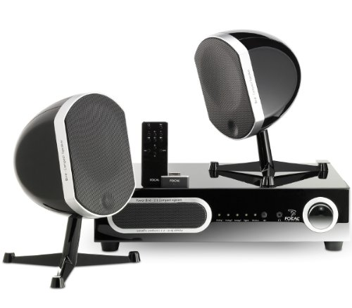 Focal Bird Pak 2.1 Speaker System, Black