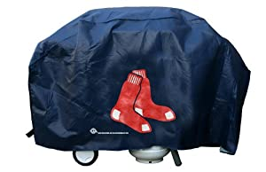 Boston Red Sox Deluxe Grill Cover by Team Sports America