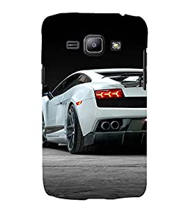 Amazing Car 3D Hard Polycarbonate Designer Back Case Cover for Samsung Galaxy J1 (2016) :: Samsung Galaxy J1 (2016) J120H