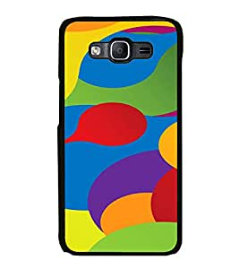 PrintVisa SAMON5-Colorful Pattern Metal Back Cover for Samsung Galaxy On5