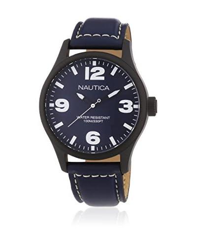 Nautica Reloj de cuarzo  Plata 44 millimeters