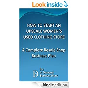 how to start a business plan for a clothing store