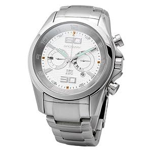 Brosway Collection MG07 - Reloj de caballero de cuarzo, correa de acero inoxidable color plata
