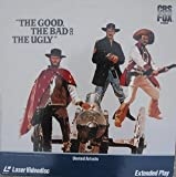 The Good The Bad And The Ugly LASERDISC (NOT A DVD!!!) (Full Screen Format)