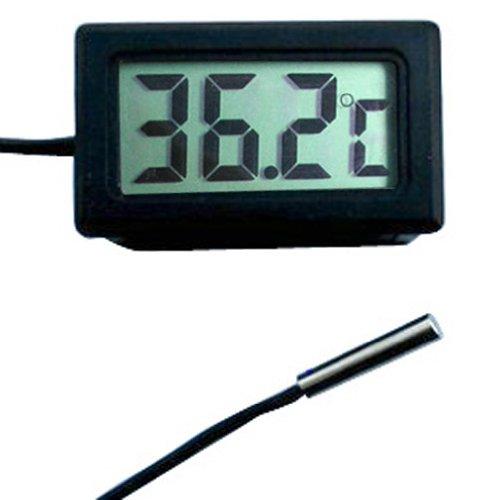 Generic Digital Lcd Car Fridge Incubator Fish Tank Meter Gauge Thermometer