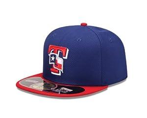 MLB Texas Rangers Jr Diamond Era 59Fifty Baseball Cap