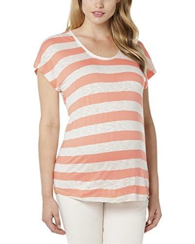 Noppies T-Shirt Premaman [Rosa/Écru]