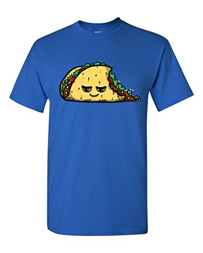 Too Cute To Eat Taco Adult DT T-Shirts Tee (XXXXX Large, Royal Blue) (Royal Cook Tortilla compare prices)