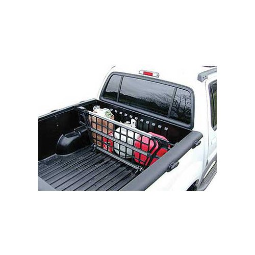 Cargo Bed Gate For - Nissan - Frontier - 1998-2015 - Black/Aluminum - Adjustable width 54-3/4 to 58-3/4, height 17. (Camper Nissan Frontier compare prices)