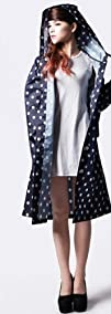 7 Weapons Adults Raincoatwith Dots