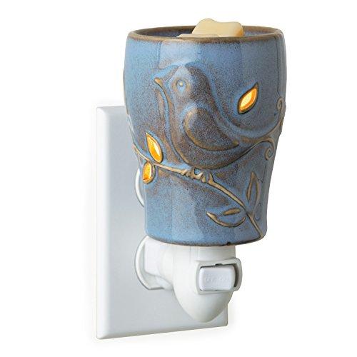 Candle Warmers Plug-In Fragrance Warmer, Bluebird