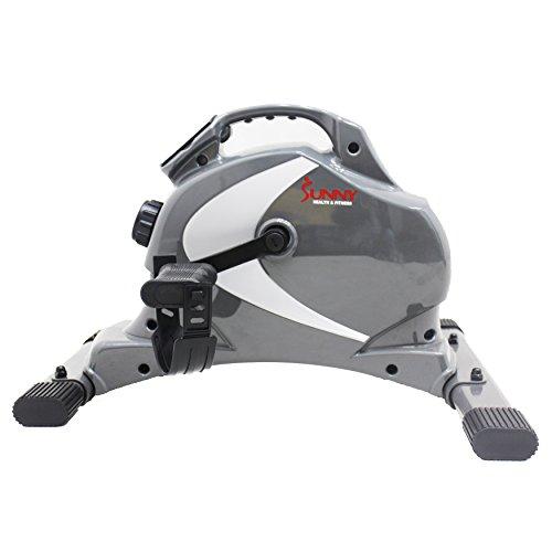 Sunny Health Amp Fitness Sf B0418 Magnetic Mini Exercise Bike