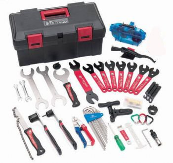 Bike Hand Advanced Home Mechanic Tool Kit / Box