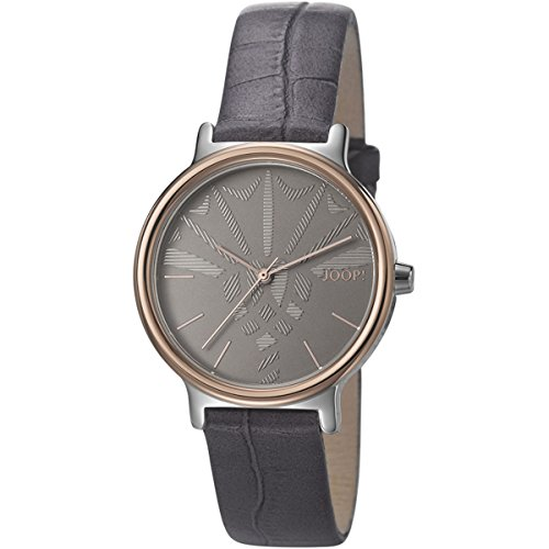 Joop. Reloj De Pulsera Mujer Logo Signature analógico de cuarzo piel jp101512009