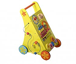 Shumee Wooden Musical activity walker