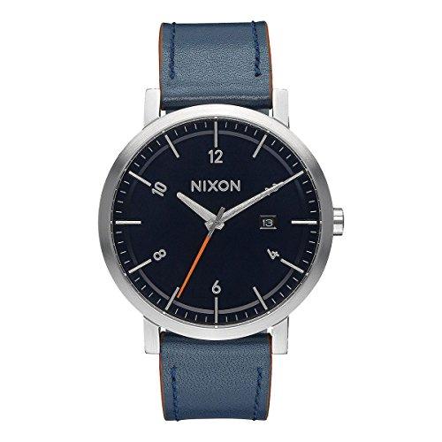 Nixon-Bracciale unisex orologio avvolgibile al quarzo in pelle A945-863-00