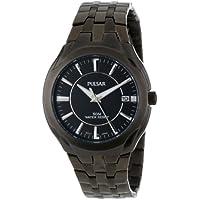 Pulsar PXHA27 Classic Stainless Steel Black Dress Men's Watch