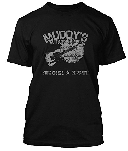 muddy-waters-inspired-guitars-n-harps-blues-t-shirt-hommes-small-noir