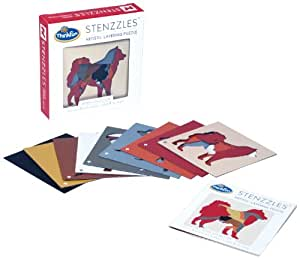 Thinkfun Stenzzles Dogs Puzzle