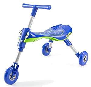 Mookie Scuttlebug Dragonfly Trike (Blue/Green)