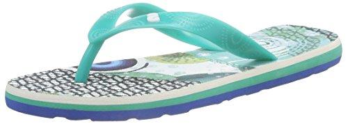 DesigualShoes_flip Flop 7 - Sandali donna , Turchese (Turquoise (5024)), 38 EU