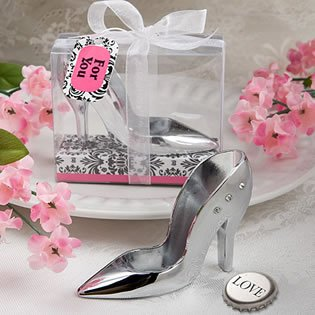High Heel Design Bottle Opener Wedding Favors, 18
