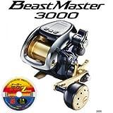 シマノ (SHIMANO) 13 ビーストマスター 3000 (電動リール) [お買得品PEライン6号300mセット]