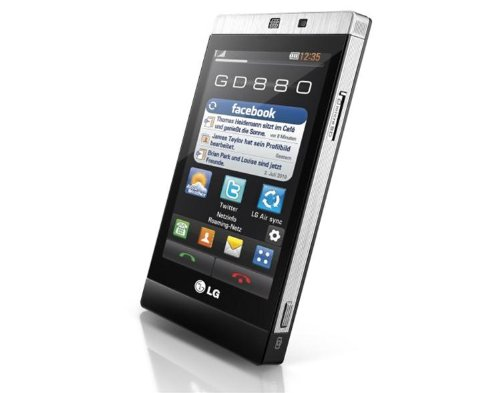 LG GD880 schwarz Vodafone Branding ohne Simlock, ohne Vertrag