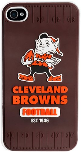 Forever Collectibles Cleveland Browns Retro Hard Snap-On Apple iPhone 4 & 4S Case