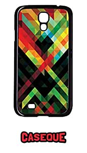 Caseque African Art Back Shell Case Cover for Samsung Galaxy S4
