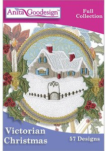 Amazon.com: Anita Goodesign Embroidery Designs Victorian Christmas