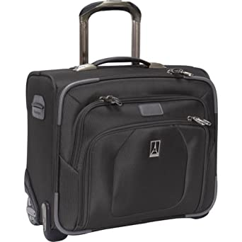 Travelpro Luggage Crew 9 Rolling Tote Bag, Black, One Size