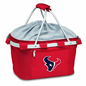 NFL Houston Texans Metro Insulated Basket by Picnic Time