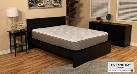 DreamFoam Bedding 12-in-1 Customizable Mattress, Queen