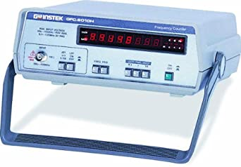 GW Instek GFC-8010H 8 Digits LED Digital Display Frequency Counter, 10Hz to 120MHz Sensitivity Range