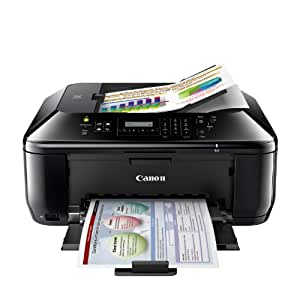 Canon 5783B003 Pixma MX432 Wireless Color Photo Printer with Scanner, Copier and Fax (Black)