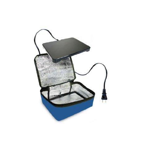 Hot-Logic Mini Personal Portable Oven, Blue