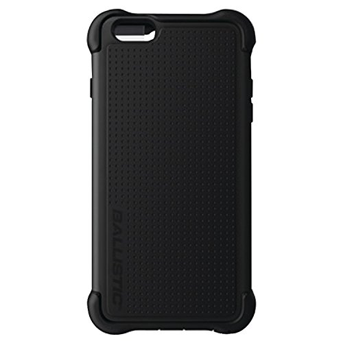 Ballistic TX1429A06C Tough Jacket Maxx iPhone 6/6S Plus Case and Holster with Clip Black on Black -retail packaging (Crystal Tough Luck compare prices)