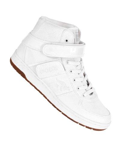 KangaROOS Skywalker III Canvas Sneaker White, bianco (bianco), 42 EU