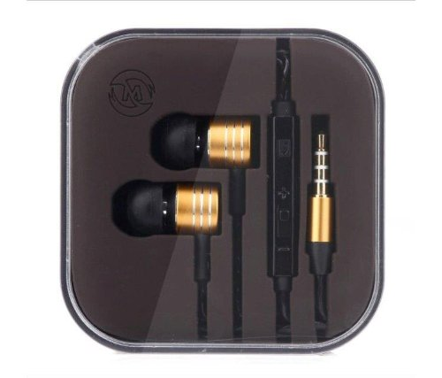 New 2014-Mosidun In-Ear Headphones With Hands-Free Mic Volume Control Earphones For Iphone 5 5S , Galaxy S4/ S5, Note 3, Htc, Ipad Air, Galaxy Tab 10.1 4, Mac, Pc (Gold)