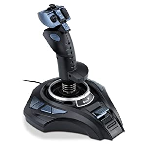 Genius METAL STRIKE PRO Joystick (Black/Blue)