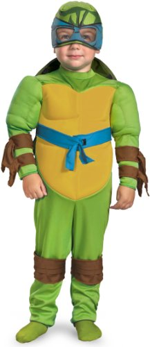 Teenage Mutant Ninja Turtles Leonardo Muscle Costume