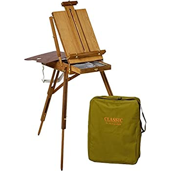 Martin Jullian Classic-Style Full Size Wooden French Sketch Box Easel